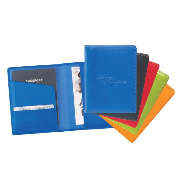 Personalized Colorplay Travel Wallet