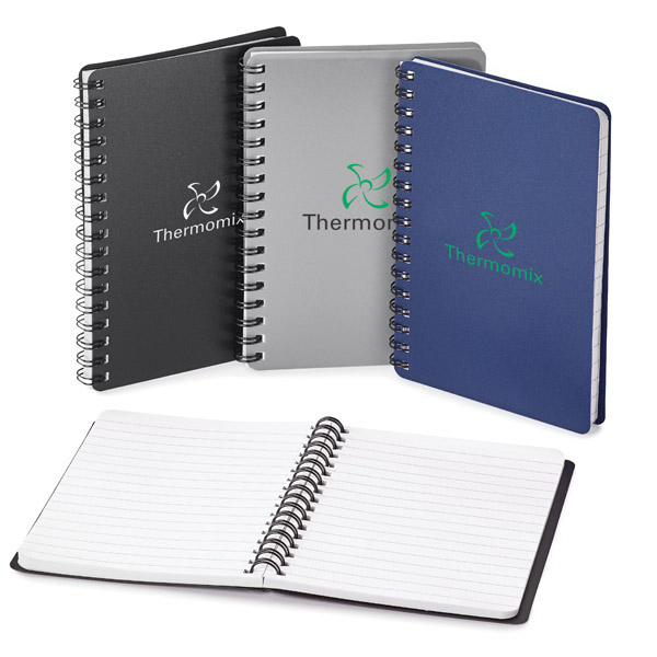 Imprinted Spiral Notebook