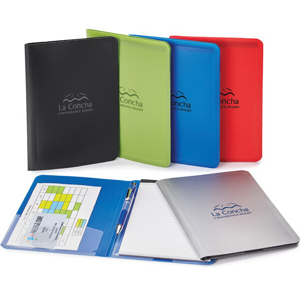 Promotional Colorplay Thin Padfolio