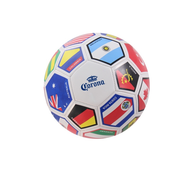 Imprinted Regulation Size Flag Soccer Ball
