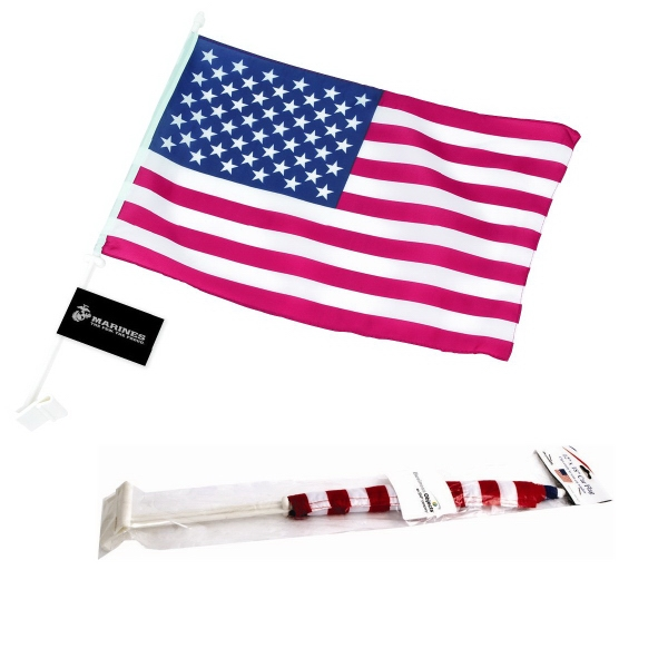 Customized American Car Flag