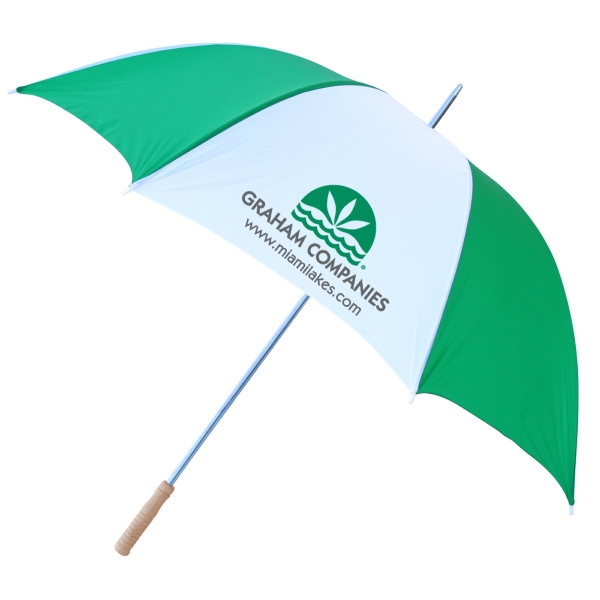 "Promotional 60"" Windproof Umbrella - Alternating Colors"