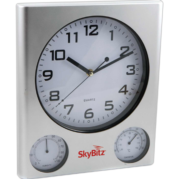Personalized Outdoor Clock and Weather Station