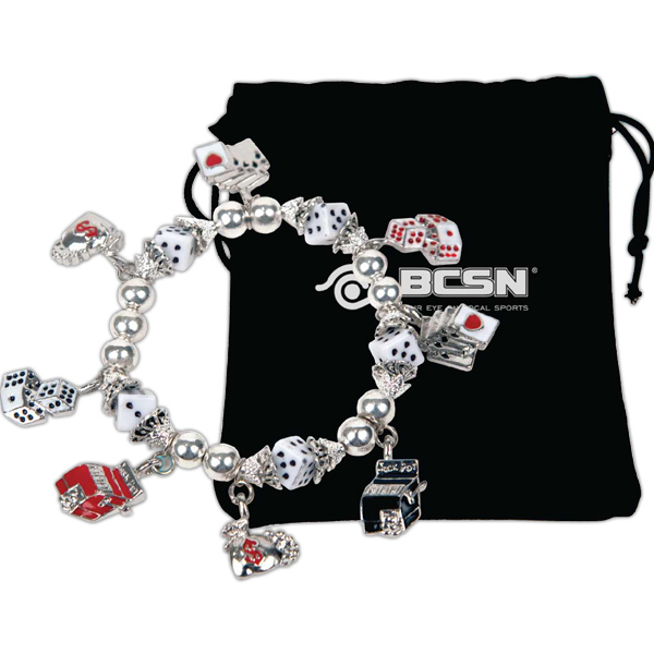 Customized Gaming Charms Stretch Bracelet