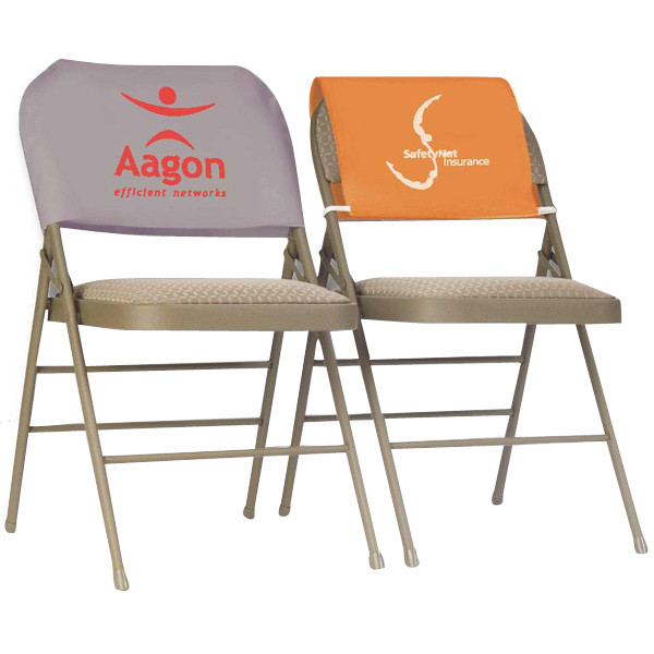 Custom Fitted Twill Reusable Advertising Chair Headrest Covers