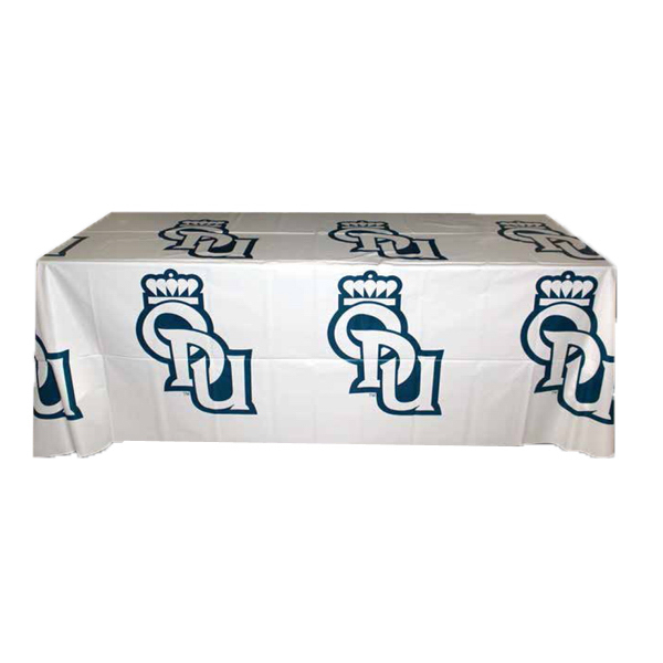 Imprinted Step & Repeat Plastic Disposable Table Cover
