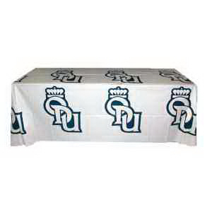 Printed Step & Repeat Plastic Disposable Table Cover