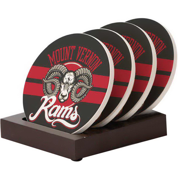 Promotional Round Coaster Stand