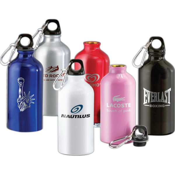 Imprinted 16 oz. Aluminum bottle