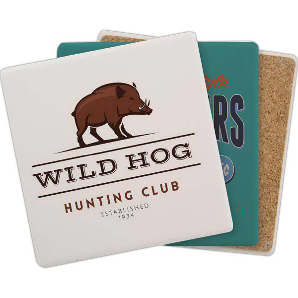 Personalized Square Aquaguard Coaster