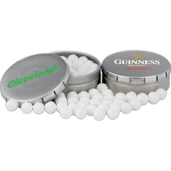 Personalized Golf Ball Mints in Clicker Tin