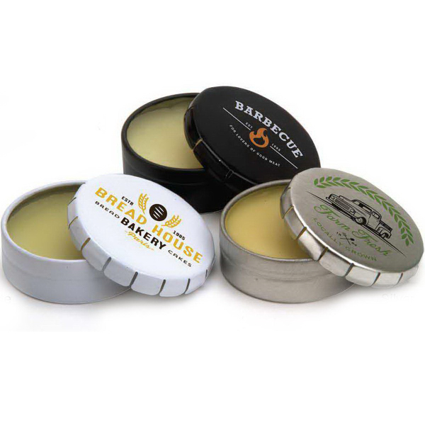Promotional Click Tin Lip Balm