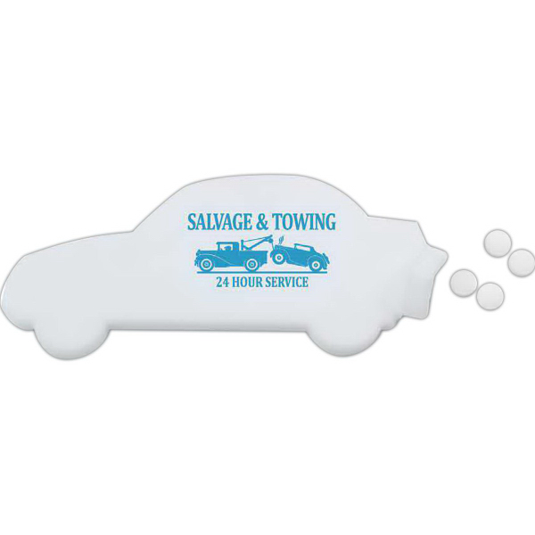 Printed Car Shaped Mint Card