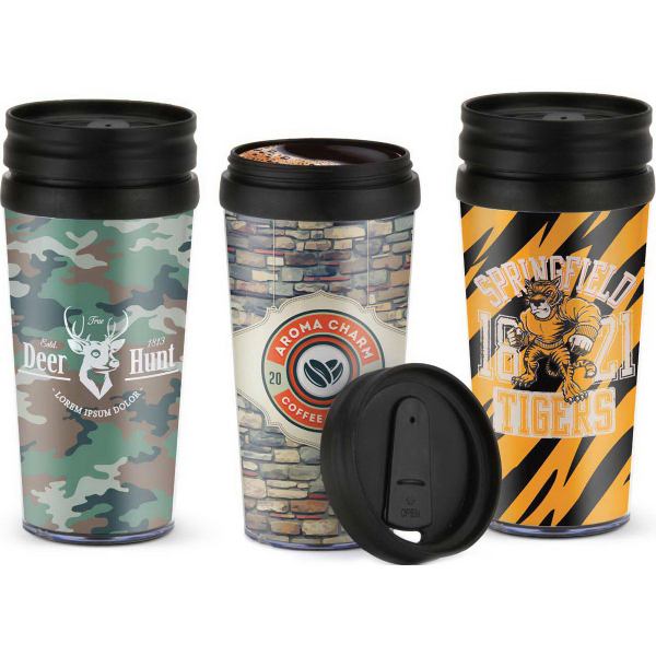 Personalized 16 oz. Tumbler with Paper Insert