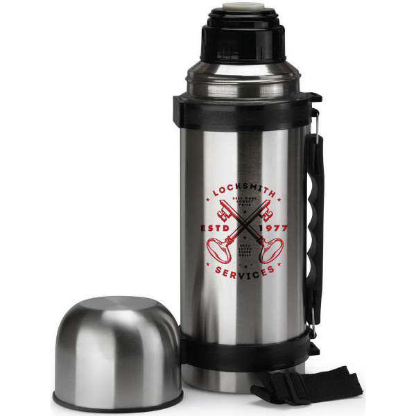 Custom 32 oz. Thermos with Handle