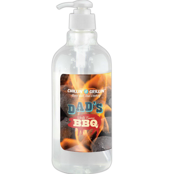 Printed 16 oz. Hand Sanitizer Gel
