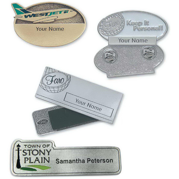Promotional Colonial Custom Name Badge