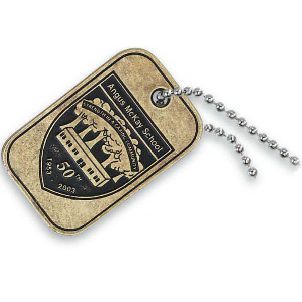 Custom Econo Dog tag