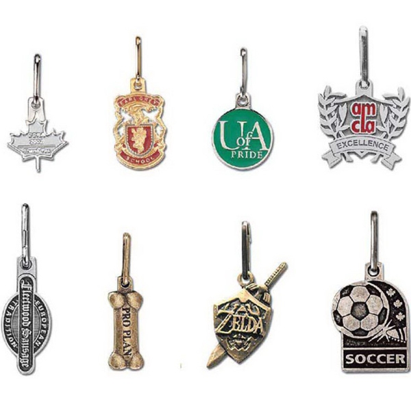 Promotional Pewter Zipper Pull
