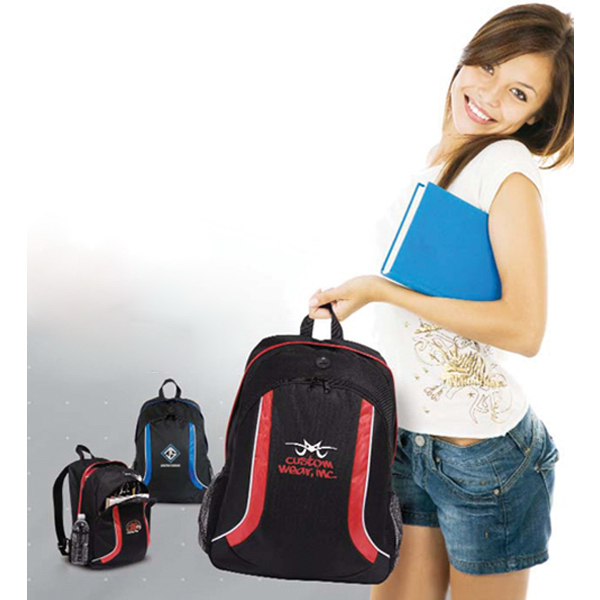 Imprinted Flair Backpack