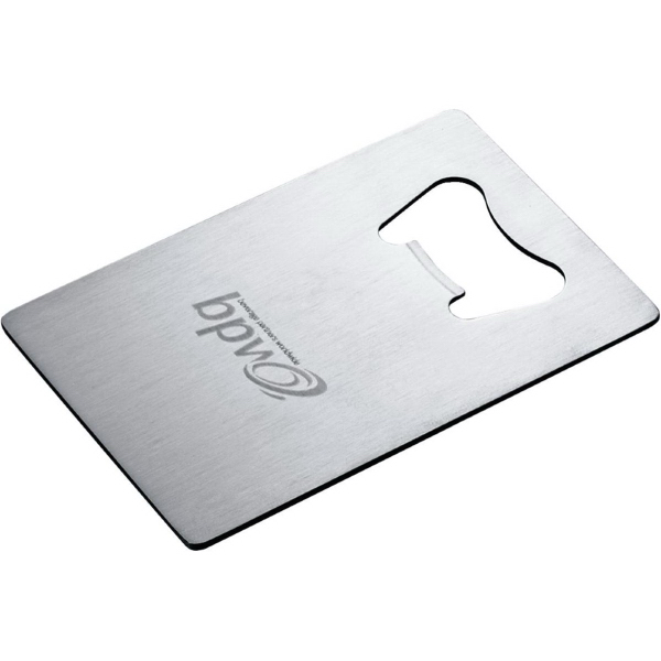 Customized Credit Card Size Bottle Opener
