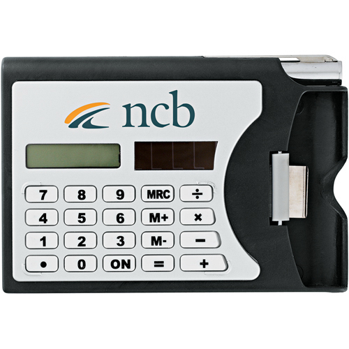 Imprinted Network (Calculator Card Holder)