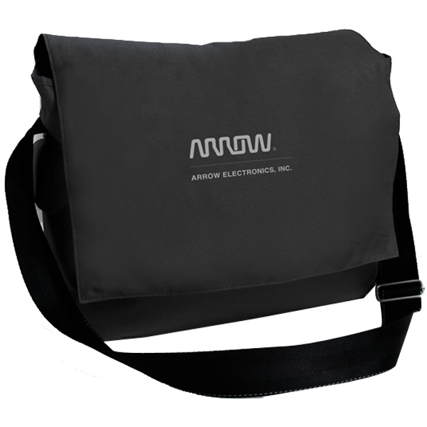 Imprinted Messenger Bag