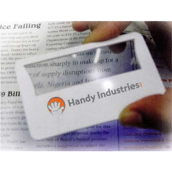 Promotional Credit card size magnifier
