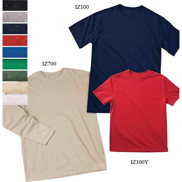Imprinted Youth Dri-Balance(TM) Short Sleeve Tee with Insect Shield(R)