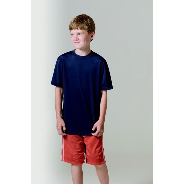 Promotional Boston Youth Short Sleeve Syntrel(TM) Shirt