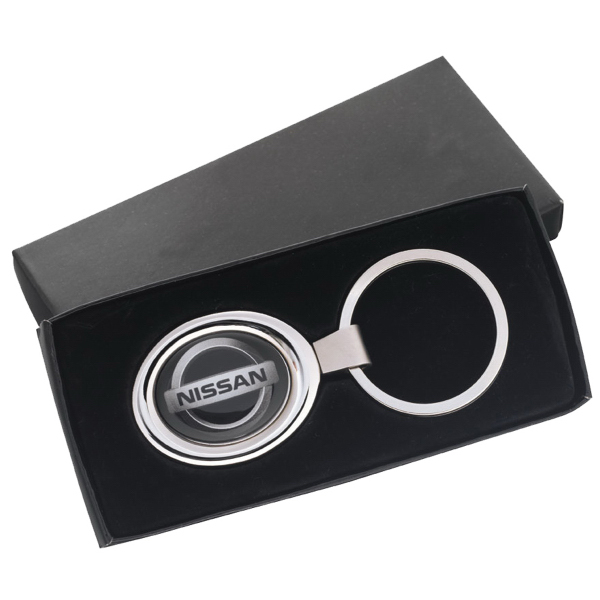 Custom Oval Key Tag with N-Dome (tm)