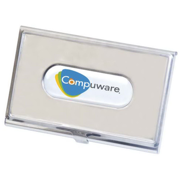 Promotional Business Card holder with N-Dome