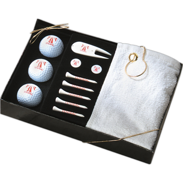 Imprinted Golf Gift Set