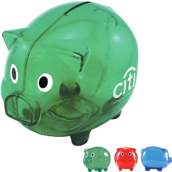 Promotional Wilbur Piggy Bank