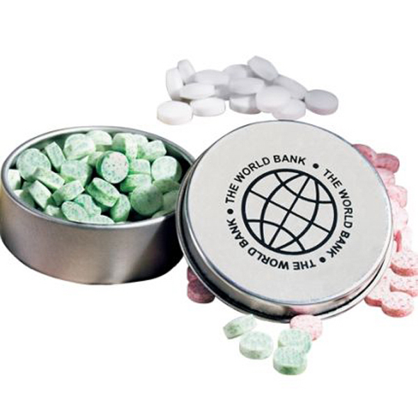 Printed Mints in Round Mint Tin