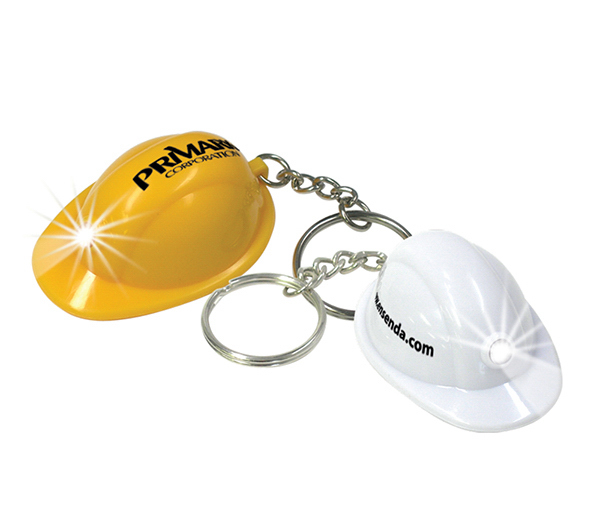 Customized Key-Ring Lights-Mini Hard Hat