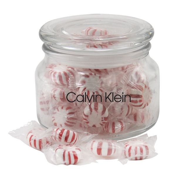 Imprinted Jar with starlight mints