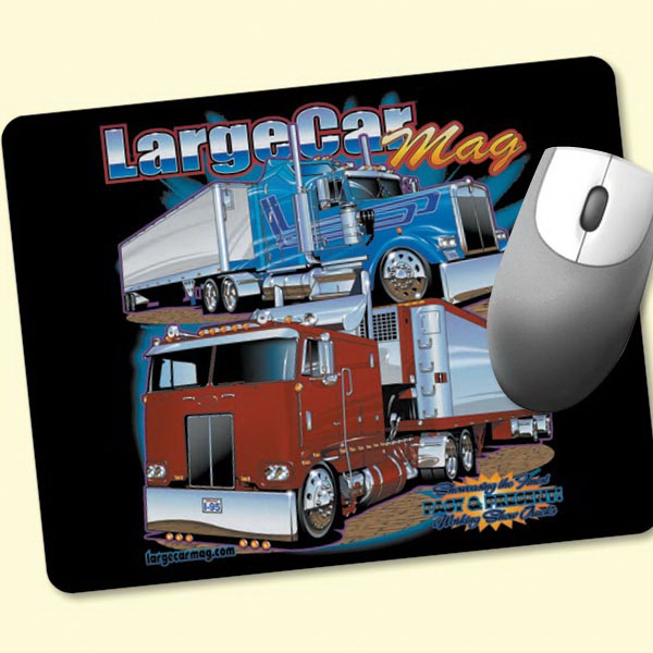 "Printed Origin'L Fabric® 7""x9""x1/4"" Fabric Mouse Pad"