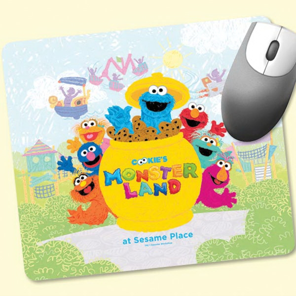 "Promotional Origin'L Fabric® 7.5""x8.5""x1/8"" Fabric Mouse Pad"