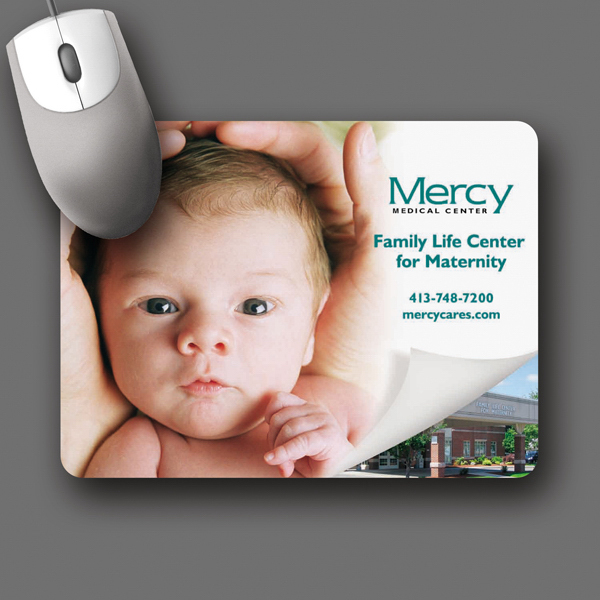 "Customized Origin'L Fabric® 6""x8""x1/16"" Fabric Mouse Pad"