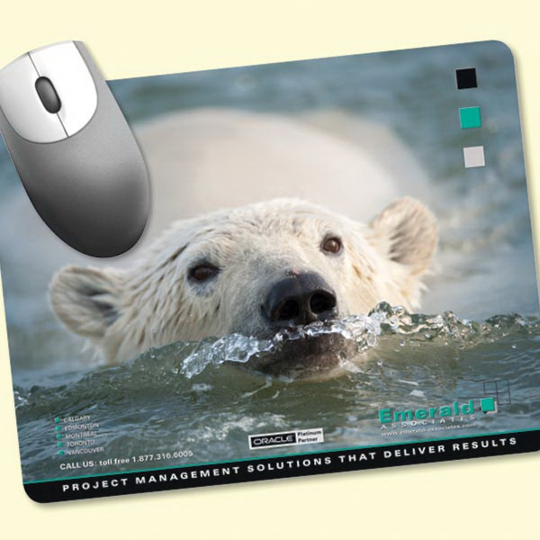 "Personalized Peel&Place® 7""x9""x.015"" Ultra Thin Mouse Pad"