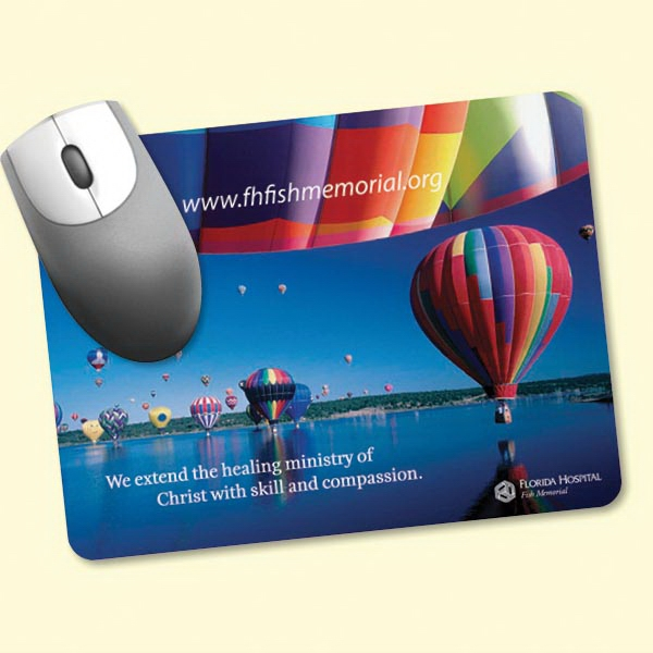 "Custom Barely There (TM) 6""x8""x.020"" Ultra Thin Mouse Pad"