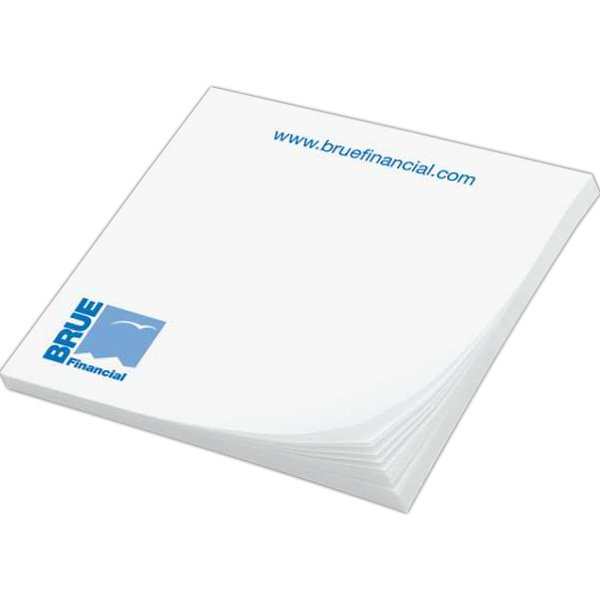 Imprinted Custom Printed Notepad