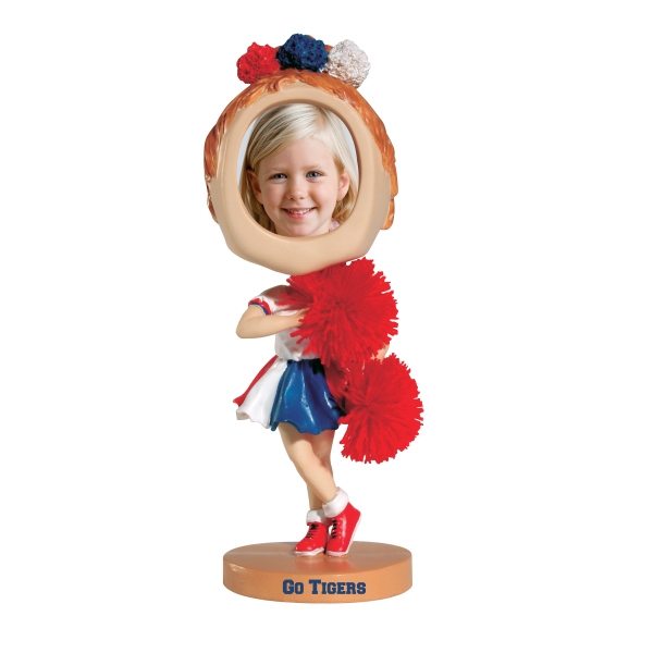 Customized Cheerleader bobblehead