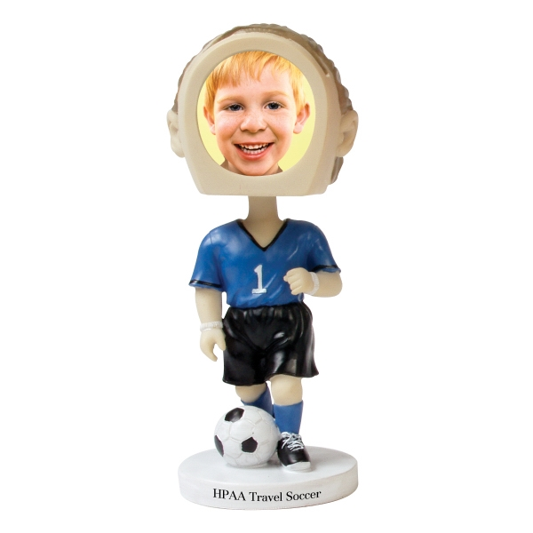 Customized Soccer bobblehead
