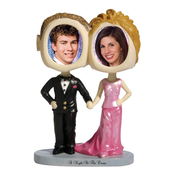 Custom Prom couple bobblehead