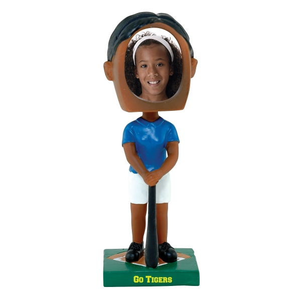 Customized Girl's softball bobblehead