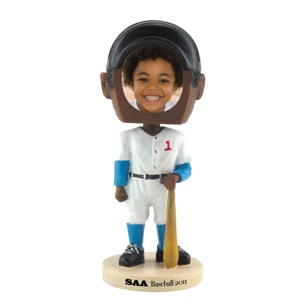 Imprinted Baseball bobblehead