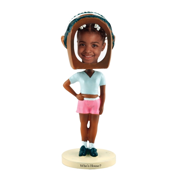 Imprinted Hip hop girl bobblehead