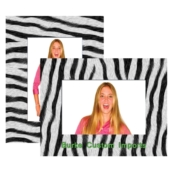 Customized Zebra Paper Easel Frame